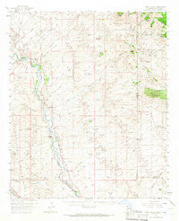 York Valley Arizona Historical topographic map, 1:62500 scale, 15 X 15 Minute, Year 1959