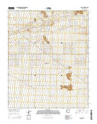 Yucca SE Arizona Current topographic map, 1:24000 scale, 7.5 X 7.5 Minute, Year 2014