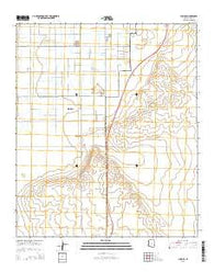 Yuma SE Arizona Current topographic map, 1:24000 scale, 7.5 X 7.5 Minute, Year 2014