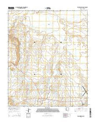 Zion Reservoir Arizona Current topographic map, 1:24000 scale, 7.5 X 7.5 Minute, Year 2014
