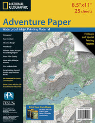 Buy waterproof paper Adventure Paper Letter by National Geographic