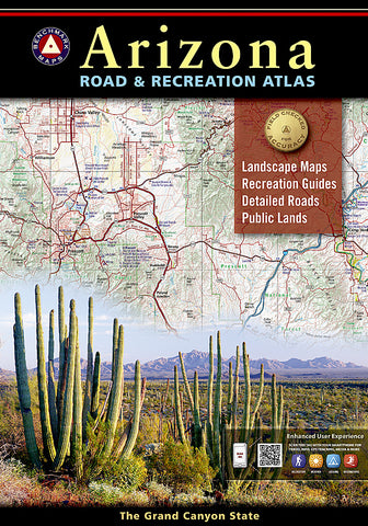 Buy map Arizona Road and Recreation Atlas by Benchmark Maps