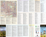 Arizona Recreation Map by Benchmark Maps - Front of map