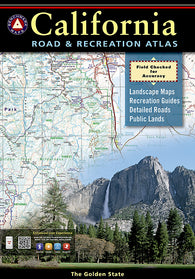 Buy map California Road and Recreation Atlas by Benchmark Maps