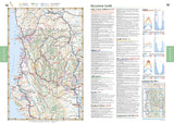 California Road and Recreation Atlas by Benchmark Maps - Front of map