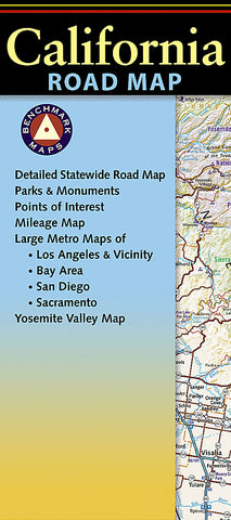 Buy map California Road Map by Benchmark Maps