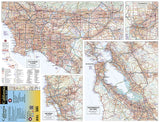 California Road Map by Benchmark Maps - Front of map