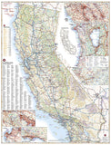California Road Map by Benchmark Maps - Back of map