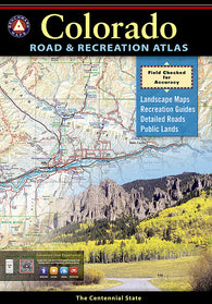 Buy map Colorado Road and Recreation Atlas by Benchmark Maps