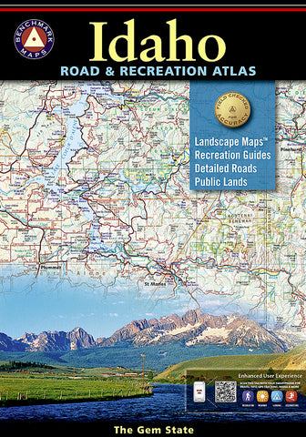 Buy map Idaho Road and Recreation Atlas by Benchmark Maps