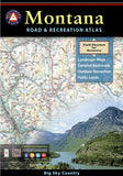 Buy map Montana Road and Recreation Atlas by Benchmark Maps