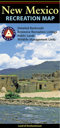 Buy map New Mexico Recreation Map by Benchmark Maps