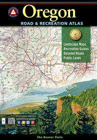 Buy map Oregon Road and Recreation Atlas by Benchmark Maps
