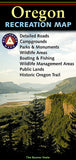 Buy map Oregon Recreation Map by Benchmark Maps