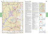 Utah Road and Recreation Atlas by Benchmark Maps - Front of map