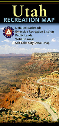 Buy map Utah Recreation Map by Benchmark Maps