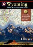 Buy map Wyoming Road and Recreation Atlas by Benchmark Maps