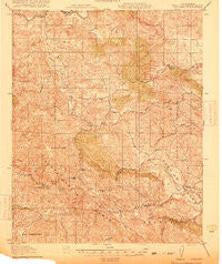 Adelaida California Historical topographic map, 1:62500 scale, 15 X 15 Minute, Year 1919