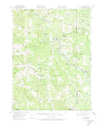 Alderpoint California Historical topographic map, 1:62500 scale, 15 X 15 Minute, Year 1949