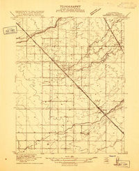 Berenda California Historical topographic map, 1:31680 scale, 7.5 X 7.5 Minute, Year 1916