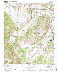 Bradley California Historical topographic map, 1:24000 scale, 7.5 X 7.5 Minute, Year 1949