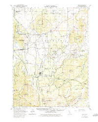 Bray California Historical topographic map, 1:62500 scale, 15 X 15 Minute, Year 1950