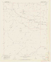 Burnt Peak California Historical topographic map, 1:24000 scale, 7.5 X 7.5 Minute, Year 1958