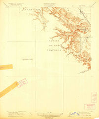 Byron Hot Springs California Historical topographic map, 1:31680 scale, 7.5 X 7.5 Minute, Year 1916