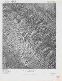 Caliente Mtn California Historical topographic map, 1:24000 scale, 7.5 X 7.5 Minute, Year 1977