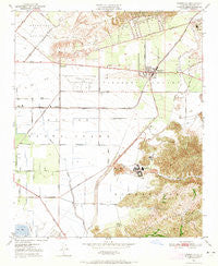 Camarillo California Historical topographic map, 1:24000 scale, 7.5 X 7.5 Minute, Year 1950