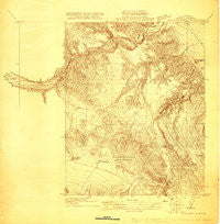 Carrisalito Spring California Historical topographic map, 1:31680 scale, 7.5 X 7.5 Minute, Year 1920
