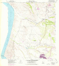 Casmalia California Historical topographic map, 1:24000 scale, 7.5 X 7.5 Minute, Year 1959