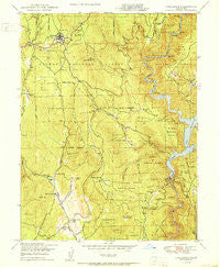 Challenge California Historical topographic map, 1:24000 scale, 7.5 X 7.5 Minute, Year 1950