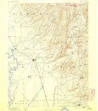 Chico California Historical topographic map, 1:125000 scale, 30 X 30 Minute, Year 1891