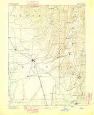 Chico California Historical topographic map, 1:125000 scale, 30 X 30 Minute, Year 1893