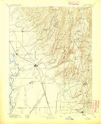 Chico California Historical topographic map, 1:125000 scale, 30 X 30 Minute, Year 1895