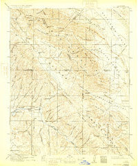 Cholame California Historical topographic map, 1:125000 scale, 30 X 30 Minute, Year 1917