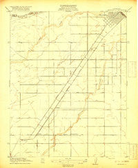 Chowchilla California Historical topographic map, 1:31680 scale, 7.5 X 7.5 Minute, Year 1918