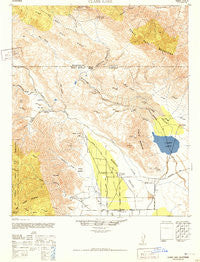 Clark Lake California Historical topographic map, 1:62500 scale, 15 X 15 Minute, Year 1942