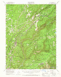 Colfax California Historical topographic map, 1:62500 scale, 15 X 15 Minute, Year 1950