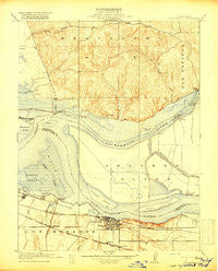 Collinsville California Historical topographic map, 1:31680 scale, 7.5 X 7.5 Minute, Year 1918