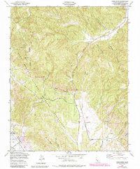 Cosio Knob California Historical topographic map, 1:24000 scale, 7.5 X 7.5 Minute, Year 1949