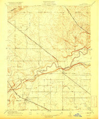 Cressey California Historical topographic map, 1:31680 scale, 7.5 X 7.5 Minute, Year 1916