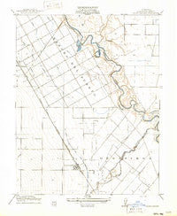 Crows Landing California Historical topographic map, 1:31680 scale, 7.5 X 7.5 Minute, Year 1916