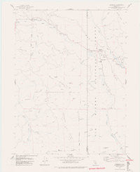 Dinsmore California Historical topographic map, 1:24000 scale, 7.5 X 7.5 Minute, Year 1977