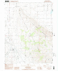 Doyle California Historical topographic map, 1:24000 scale, 7.5 X 7.5 Minute, Year 1988