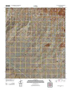 East of Acolita California Historical topographic map, 1:24000 scale, 7.5 X 7.5 Minute, Year 2012