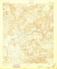 Elcajon California Historical topographic map, 1:62500 scale, 15 X 15 Minute, Year 1893