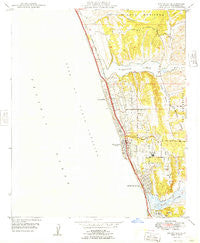 Encinitas California Historical topographic map, 1:24000 scale, 7.5 X 7.5 Minute, Year 1949