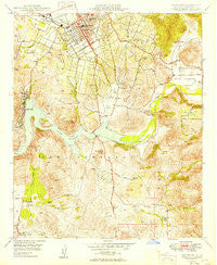 Escondido California Historical topographic map, 1:24000 scale, 7.5 X 7.5 Minute, Year 1949